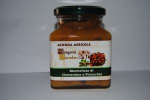 Marmellata di Clementine e Pistacchio